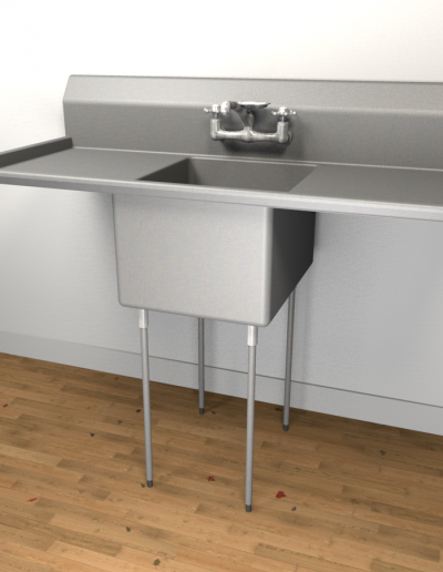Advance Tabco Commercial Sink