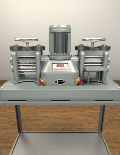 Durston DRM130 Power Mill & Double Power Mill Stand