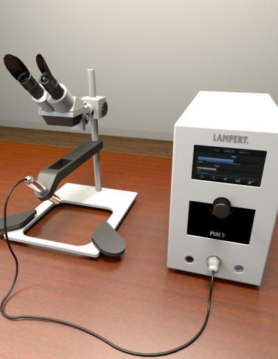 Lampert PUK5 Arc Welder & SM5 Microscope