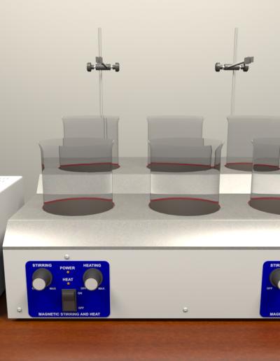 Rio Grande Midas 6-Station Plating System & HYElec 3-Amp Rectifier