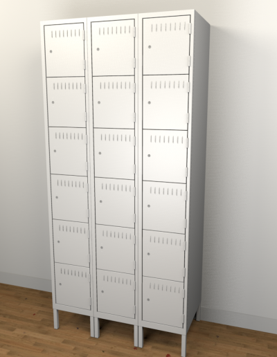 ULine Six-Tier Lockers